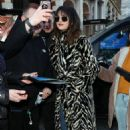 Selena Gomez – Arriving at Capital Breakfast Radio Studios in London
