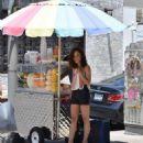 Cara Santana in Shorts – Shopping in West Hollywood - 454 x 578