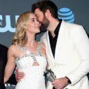 Emily Blunt and John Krasinski : The 24th Annual Critics' Choice Awards