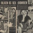 Karen Blixen - Se Og Hoer Magazine Pictorial [Denmark] (13 February 1959) - 454 x 314
