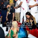 Blac Chyna, Tyga, Chris Brown, and Karrueche at the 2013 BET Awards Afterparty at Belasco in Los Angeles , California - June 30, 2013 - 439 x 450