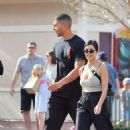 Kourtney Kardashian at Disneyland in Anaheim