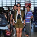 Demi Lovato – Seen At LAX Airport - 454 x 581