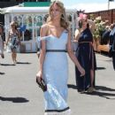 Jennifer Hawkins– Celebrities Attend Oaks Day - 454 x 599
