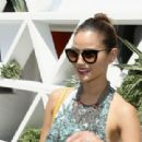 JAMIE CHUNG at Popsugar and CFDA Brunch with Mara Hoffman in Palm Springs - 454 x 311