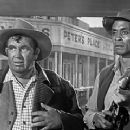 The Man Who Shot Liberty Valance - Andy Devine and Woody Strode - 454 x 240