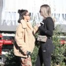 Chantel Jeffries has lunch at Taste in West Hollywood