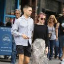 Maisie Williams with Reuben Selby – Out in NY