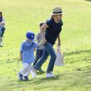 Reese Witherspoon spotted at her son's tee ball game in Brentwood Ca March 25th, 2017
