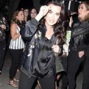 Kyle Richards night out in LA - 454 x 781
