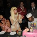Amber Rose attends Nicki Minaj's 26th Birthday Party at Club Tao in Las Vegas, Nevada - December 9, 2010