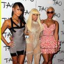 Amber Rose attends Nicki Minaj's 26th Birthday Party at Club Tao in Las Vegas, Nevada - December 9, 2010