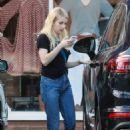 Emma Roberts – Shopping in Studio City