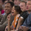 Stacey Dash New York Knicks Vs Orlando Magic In Ny