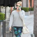 Ashley Greene in Leggings out in Beverly Hills