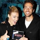 Zachary Levi and Caitlin Crosby - 366 x 549