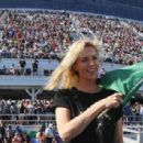 Charlize Theron – NASCAR Cup Series 60th Annual Daytona 500 in Florida - 454 x 308