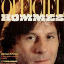 Roman Polanski - L'Officiel Hommes Magazine Cover [France] (February 1982)