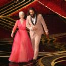 Helen Mirren and Jason Momoa At The 91st Annual Academy Awards - Show - 454 x 307