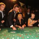 Jamie Campbell-Bower, James Purefoy, Sydney Finch, Daphne Guinness and Christian Louboutin attend Roger Dubuis - Soiree Monegasque at Hotel de Paris on October 20, 2011 in Monaco - 454 x 290
