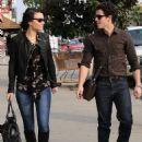 Nick Jonas and Samantha Barks