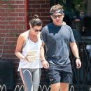 Lea Michele – Grab lunch at Cafe Gratitude in Venice Beach