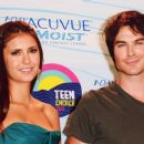 ian somerhalder & nina dobrev together