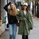 Lana Del Rey and a friend are spotted out shopping in Sherman Oaks, California on January 23, 2017 - 445 x 600