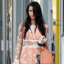 Adriana Lima– Shopping in Miami 11/14/ 2016