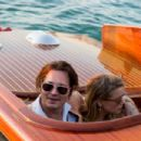 Amber Heard and Johnny Depp Out In Venice