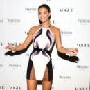 Nina Agdal At The Visionary World Of Vogue Italia Exhibition Opening Night In New York