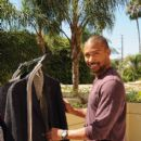 Actor Charles Michael Davis attends the HBO Luxury Lounge featuring PANDORA at Four Seasons Hotel Los Angeles at Beverly Hills on August 23, 2014 in Beverly Hills, California - 414 x 594