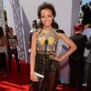 Selita Ebanks arrives at the 2012 BET Awards at The Shrine Auditorium on July 1, 2012 in Los Angeles, California - 395 x 594