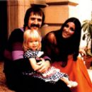 Sonny and Cher with daughter Chastity