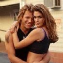 Jon Bon Jovi and Cindy Crawford