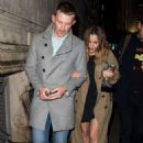 Caroline Flack – Leaving a Kylie Minogue Gig in London - 454 x 681