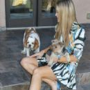 Joanna Krupa With Her Dogs out in Los Angeles - 454 x 690