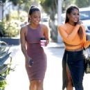 Christina Milian and Danielle Flores out in West Hollywood