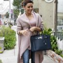 Eva Longoria Heading To Ken Paves Salon In Beverly Hills, February 24 2010 - 454 x 712