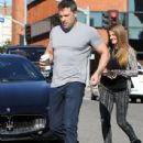 Ben Affleck meeting some friends for lunch at Tavern restaurant in Brentwood, California on Janaury 6, 2014