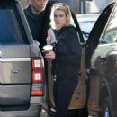Emma Roberts in Black Leggings Out in Beverly Hills