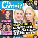 Angélica, Luciano Huck, Neymar, Bruna Marquezine, Kaká, Eliana, Galvão Bueno, Fatima Bernardes, Em Família - Te Contei? Magazine Cover [Brazil] (9 June 2014)