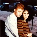 David Caruso and Amy Brenneman
