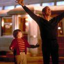 Spencer Breslin and Bruce Willis in Disney's The Kid - 2000