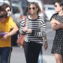 Robin Wright – Walk with her friends in West Hollywood