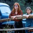 Dana Delany as Susan Barnes and Anna Paquin as Amy Alden in Fly Away Home (1996) - 454 x 303