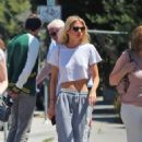 Stella Maxwell – Goues out with family in Los Angeles