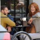 Angie Everhart – Leaving Joan's on Third in Los Angeles - 454 x 303