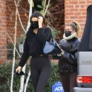 Hailey Bieber and Kendall Jenner – Out for a workout session in Los Angeles - 454 x 682