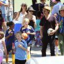 Angelina Jolie and Brad Pitt in Los Angeles  (May 02, 2015)